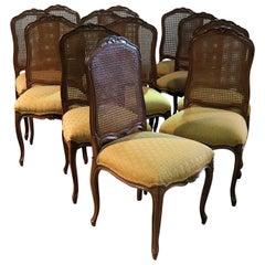 Set of 12 Country French Dining Side Chairs