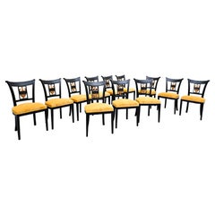 Set of 12 Empire Style Dining Chair