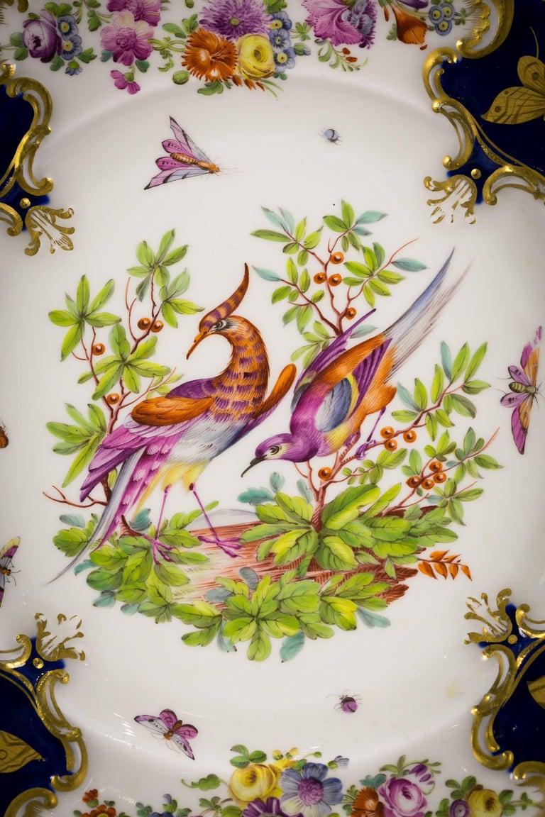 Set of 12 English Porcelain Plates, Coalbrookdale, circa 1850 For Sale 2