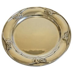 Set of 12 Georg Jensen Sterling Silver Charger/Plate No 232
