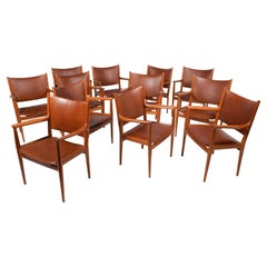 Set of 12 Hans Wegner JH513 Armchairs