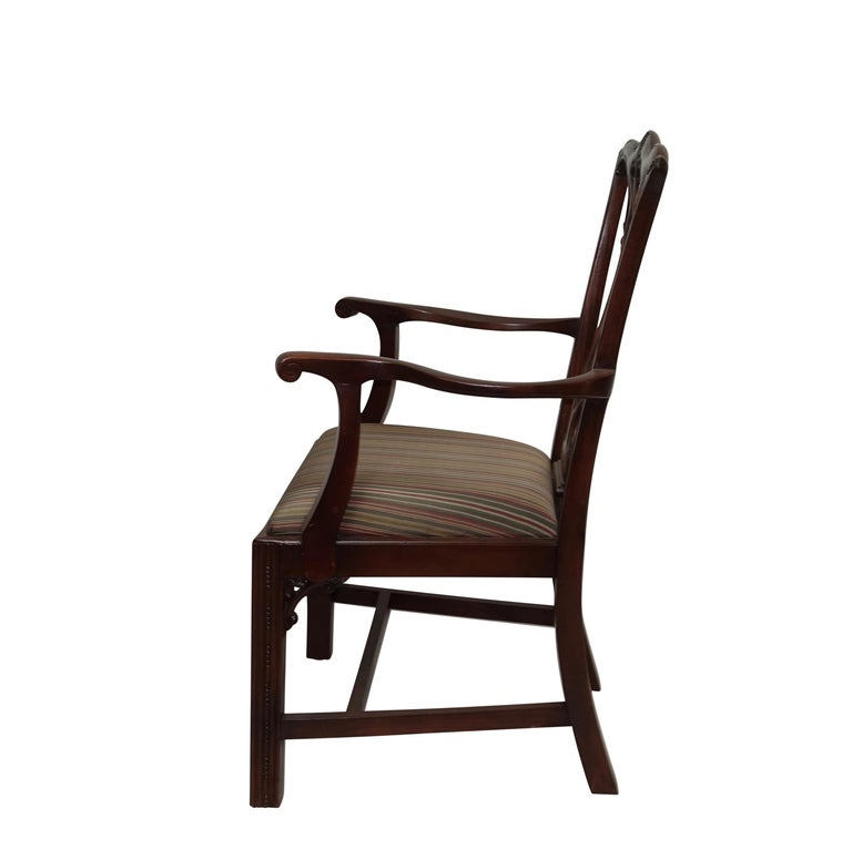 Chippendale Mahogany Dining Room Chairs: Set Of 12 Mahogany Chippendale Style Dining Chairs For
