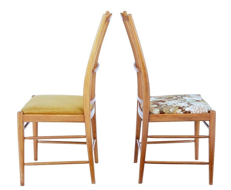 Mid-Century Modern Set of 12 Napoli Dining Chairs by David Rosen for Nordiska Kompaniet For Sale