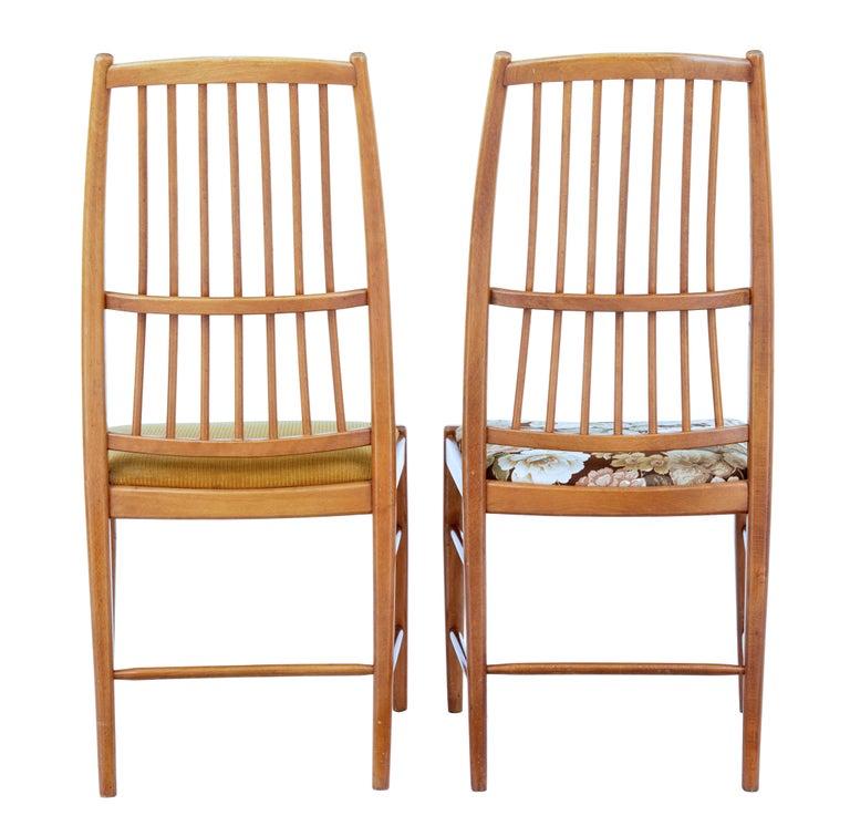 Swedish Set of 12 Napoli Dining Chairs by David Rosen for Nordiska Kompaniet For Sale