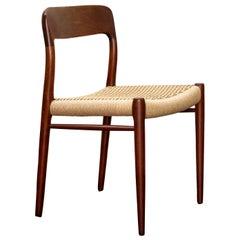 Set of 12 Niels O Møller Dining Chairs in Teak, Danish