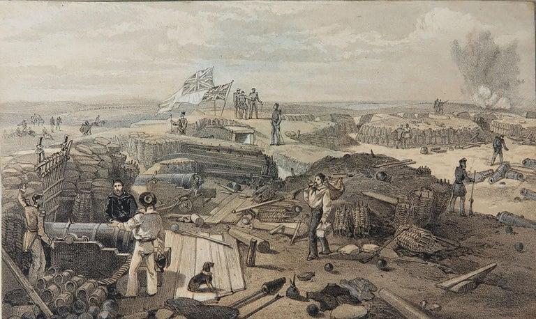 Set of 12 Original Antique Prints of the Crimean Wars, circa 1860 3