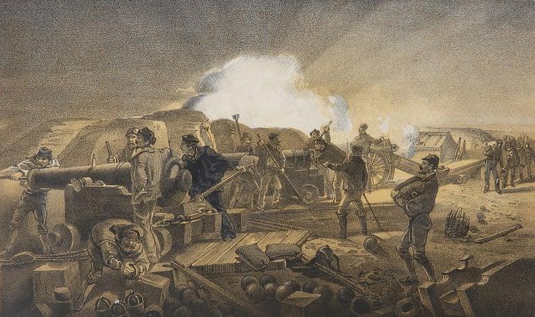 Set of 12 Original Antique Prints of the Crimean Wars, circa 1860 4