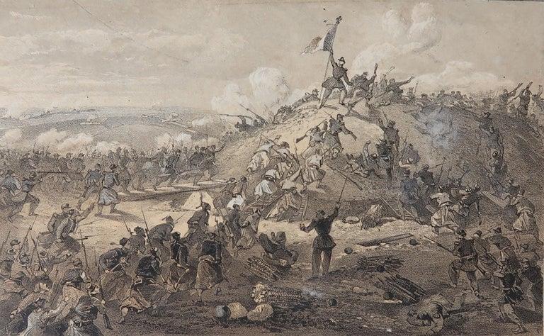 Set of 12 Original Antique Prints of the Crimean Wars, circa 1860 5