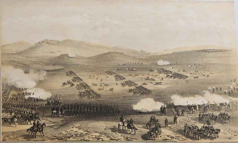 Mid-19th Century Set of 12 Original Antique Prints of the Crimean Wars, circa 1860