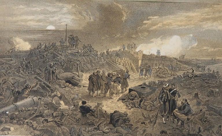 Set of 12 Original Antique Prints of the Crimean Wars, circa 1860 1