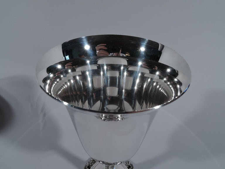 Set of 12 Wallace Grande Baroque Sterling Silver Goblets In Excellent Condition For Sale In New York, NY