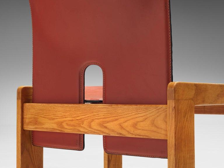 Set of '121' Chairs by Afra & Tobia Scarpa For Sale 1