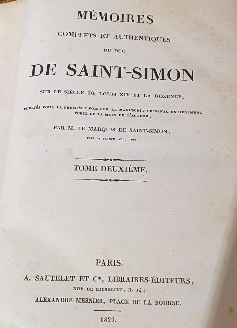 Set of 13 French Leather Bound Books For Sale 4