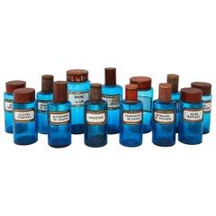 Set of 14 Apothecary Jars