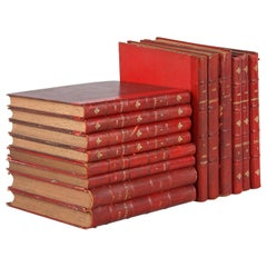 Set of 14 French Books-Les Annales, 1892-1912