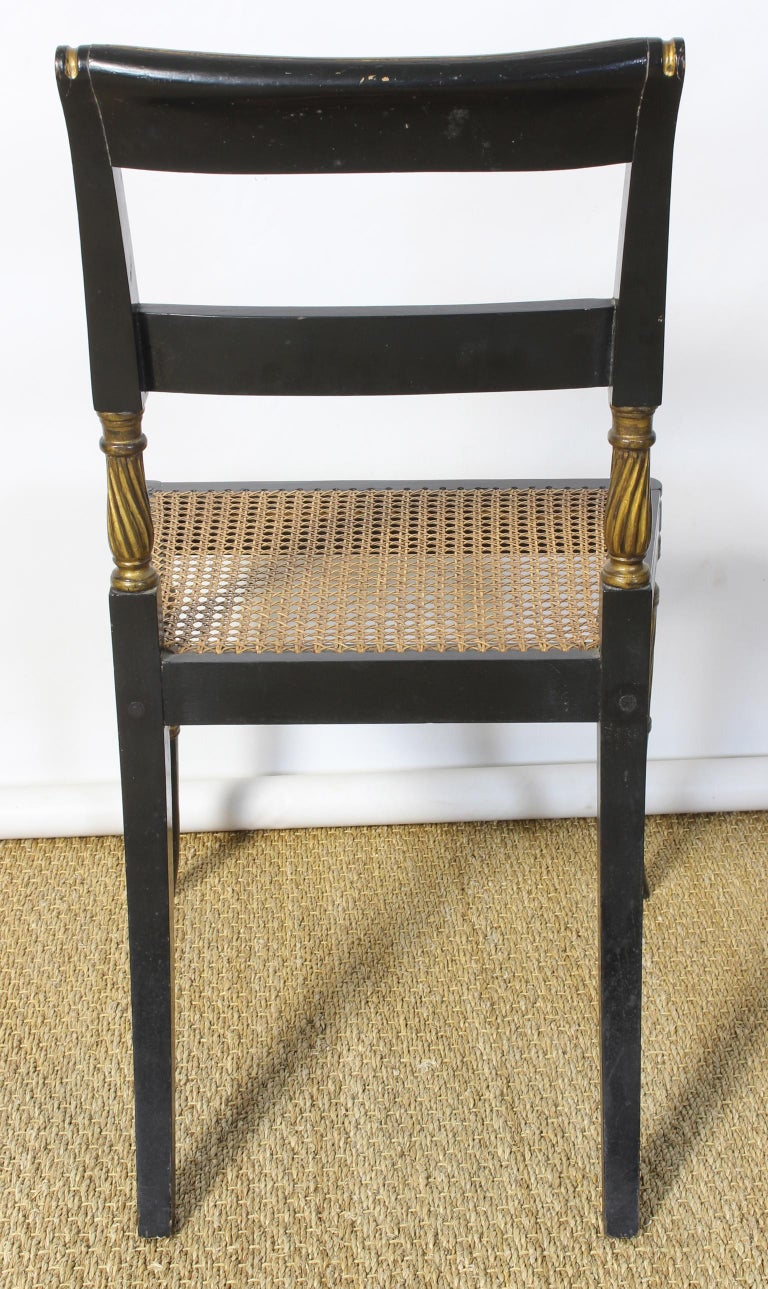 Set of 14 Regency Dining Chairs For Sale 8