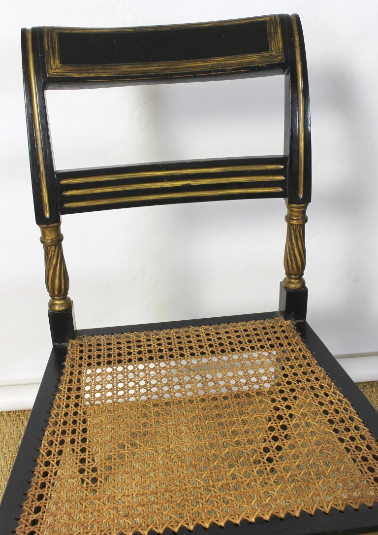 Set of 14 Regency Dining Chairs For Sale 9