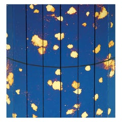 Set of 15 Stardust Blue Decorative Panels