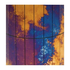Set of 15 Volcano Decorative Panels