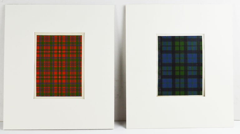 Lithographs on the finest of paper applied to card.