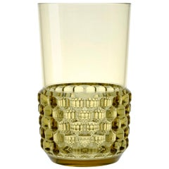 Set of 16 Large Kartell Jellies Glasses in Green by Patricia Urquiola