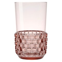 Set of 16 Large Kartell Jellies Glasses in Pink by Patricia Urquiola