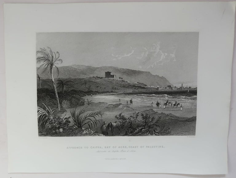 Set of 16 Original Antique Prints of the Levant / Holy Land /Middle East, C 1840 2