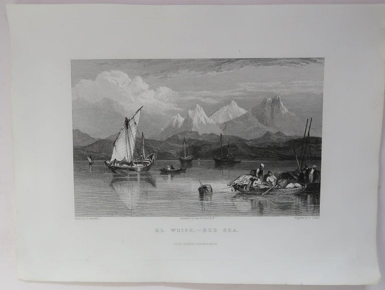 Set of 16 Original Antique Prints of the Levant / Holy Land /Middle East, C 1840 3