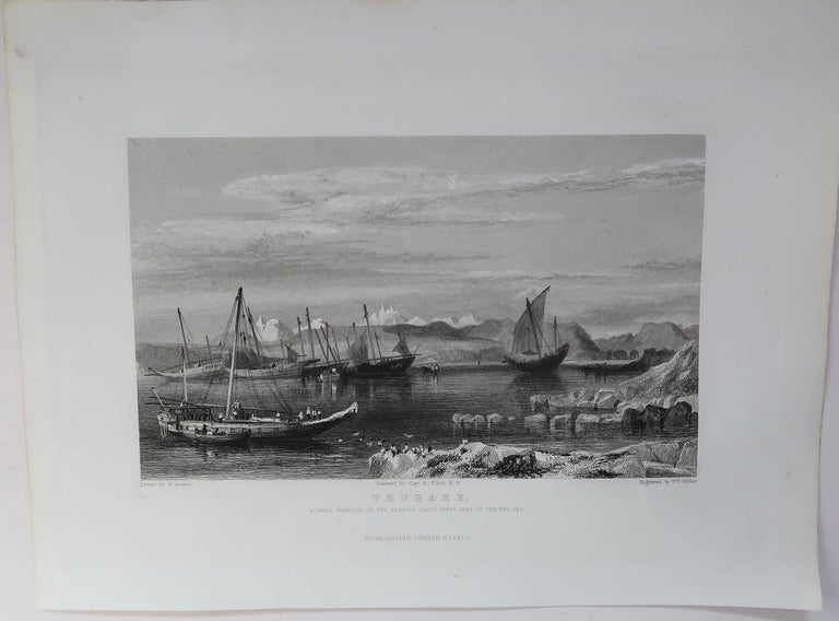 Set of 16 Original Antique Prints of the Levant / Holy Land /Middle East, C 1840 6