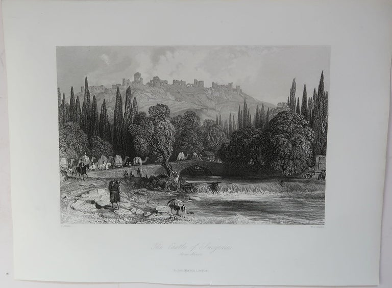 Set of 16 Original Antique Prints of the Levant / Holy Land /Middle East, C 1840 7