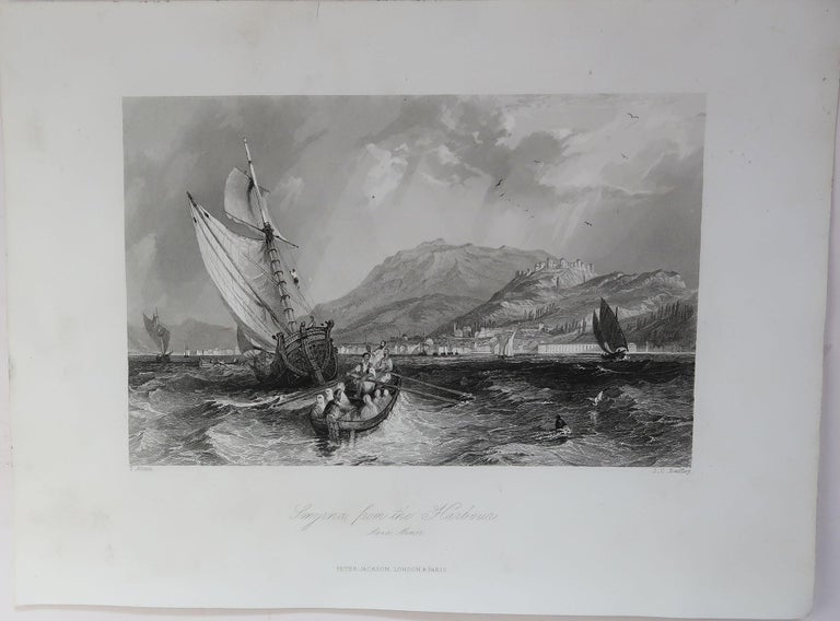 Set of 16 Original Antique Prints of the Levant / Holy Land /Middle East, C 1840 8