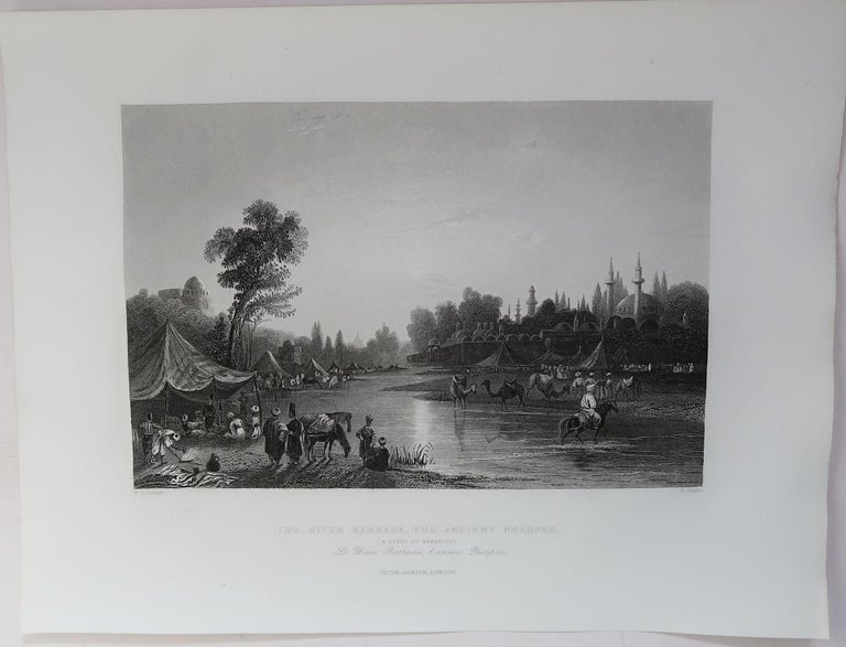 Set of 16 Original Antique Prints of the Levant / Holy Land /Middle East, C 1840 9