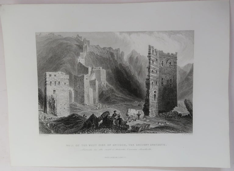 Set of 16 Original Antique Prints of the Levant / Holy Land /Middle East, C 1840 In Good Condition In St Annes, Lancashire