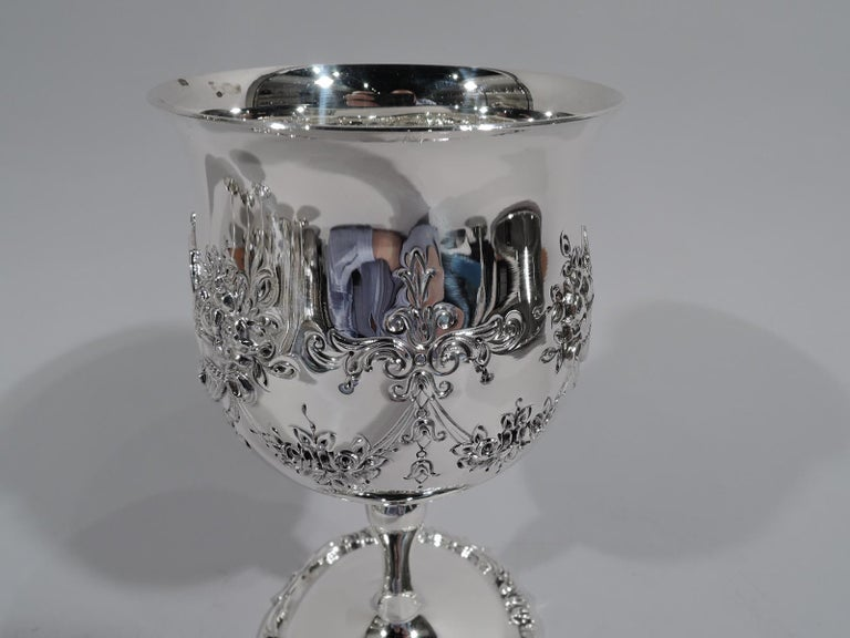 Set of 16 Reed & Barton Sterling Silver Goblets in Francis I Pattern For Sale 1