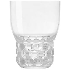 Set of 16 Small Kartell Jellies Glasses in Crystal by Patricia Urquiola