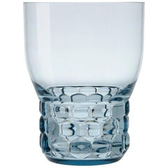 Set of 16 Small Kartell Jellies Glasses in Light Blue by Patricia Urquiola