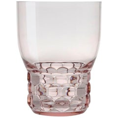 Set of 16 Small Kartell Jellies Glasses in Pink by Patricia Urquiola