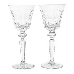 Set of 16 St. Louis Water Goblets