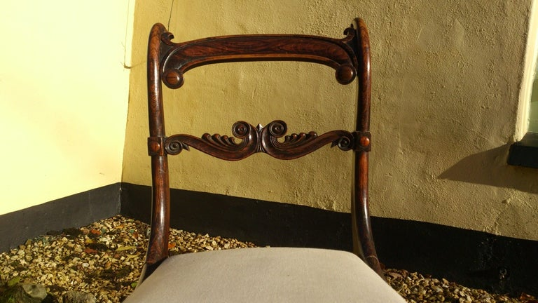 Set of 18 Regency Dining Chairs For Sale 3