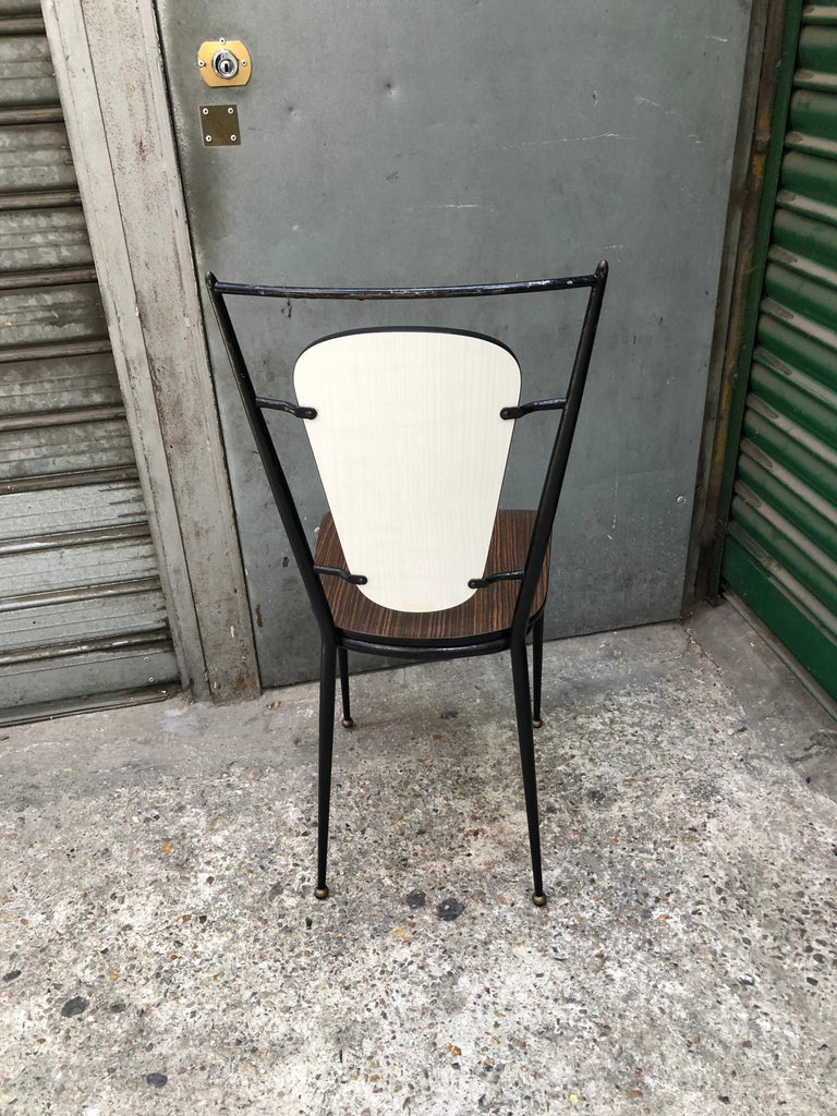 Forged Set of 1960 Chairs For Sale