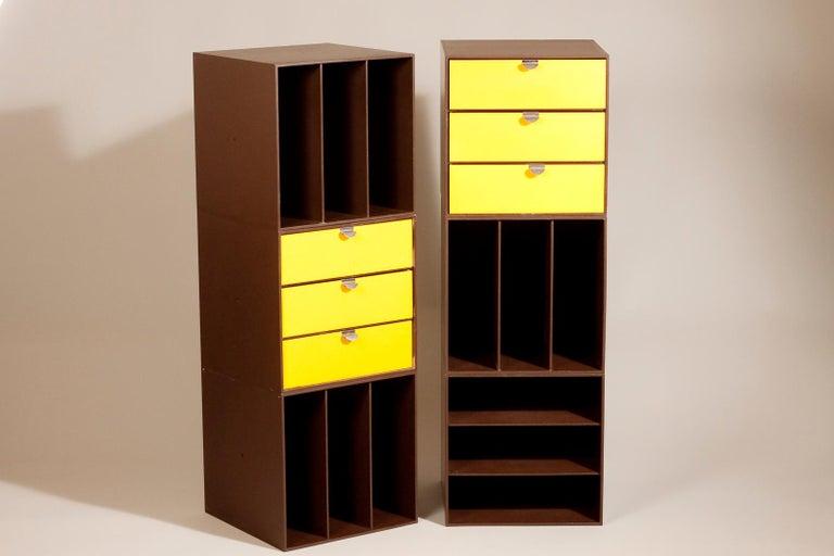 Mid-Century Modern Set of 1960s Storage Box Units by Ristomatti Ratia for Treston Oy, Finland For Sale