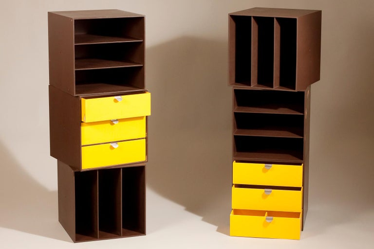 Finnish Set of 1960s Storage Box Units by Ristomatti Ratia for Treston Oy, Finland For Sale