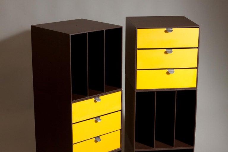 Molded Set of 1960s Storage Box Units by Ristomatti Ratia for Treston Oy, Finland For Sale