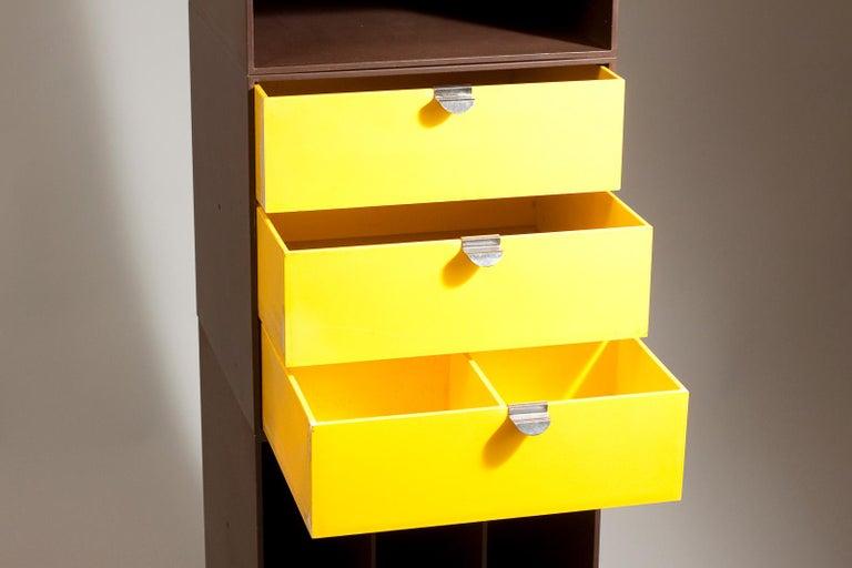 Plastic Set of 1960s Storage Box Units by Ristomatti Ratia for Treston Oy, Finland For Sale