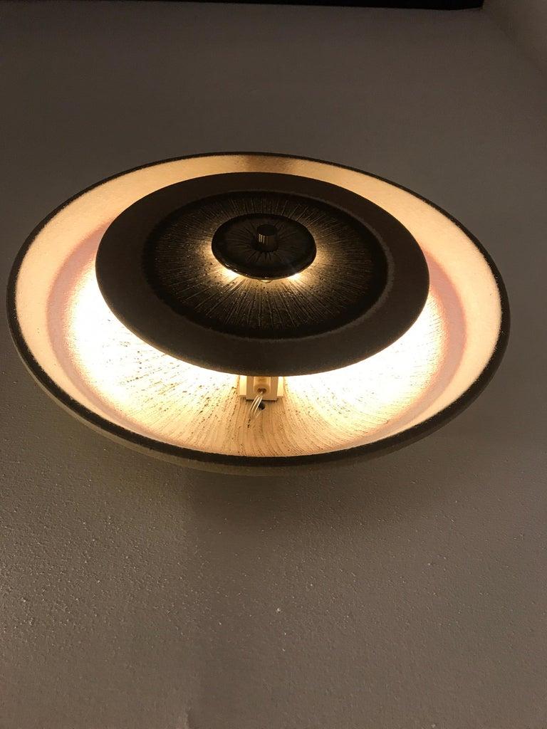 Set of 1970s Ceramic Soholm Wall Lights For Sale 1