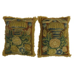 Set of 19th Century French Tapestry Pillows