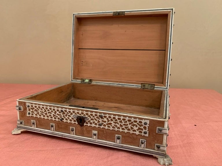 Set of 2 Anglo Indian Boxes For Sale 4