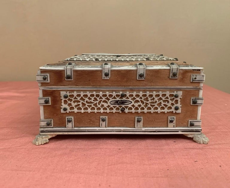 Set of 2 Anglo Indian Boxes For Sale 5