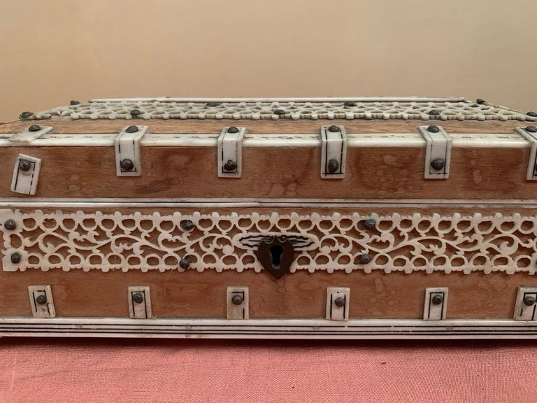 Set of 2 Anglo Indian Boxes For Sale 6