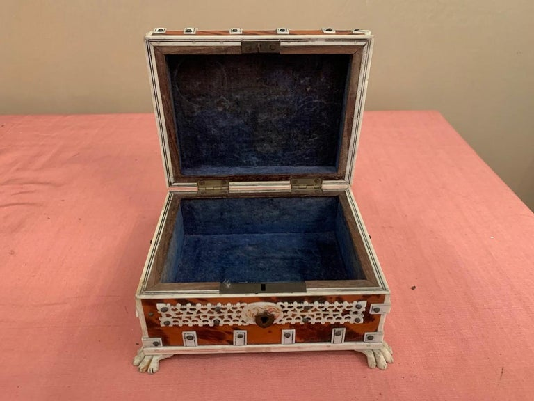 Set of 2 Anglo Indian Boxes For Sale 13